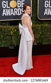 LOS ANGELES, CA. January 06, 2019: Julianne Moore at the 2019 Golden Globe Awards at the Beverly Hilton Hotel.