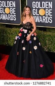 LOS ANGELES, CA. January 06, 2019: Heidi Klum at the 2019 Golden Globe Awards at the Beverly Hilton Hotel.