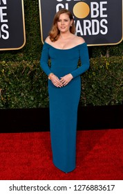 LOS ANGELES, CA. January 06, 2019: Amy Adams at the 2019 Golden Globe Awards at the Beverly Hilton Hotel.