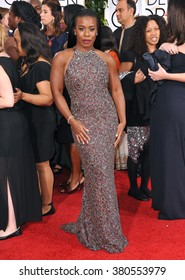 LOS ANGELES, CA - JANUARY 11, 2015: Uzo Aduba at the 72nd Annual Golden Globe Awards at the Beverly Hilton Hotel, Beverly Hills.