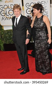 LOS ANGELES, CA - JANUARY 12, 2014: Robert Redford at the 71st Annual Golden Globe Awards at the Beverly Hilton Hotel.