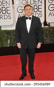 LOS ANGELES, CA - JANUARY 12, 2014: Jonah Hill at the 71st Annual Golden Globe Awards at the Beverly Hilton Hotel.