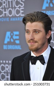LOS ANGELES, CA - JANUARY 15, 2015: Garrett Hedlund at the 20th Annual Critics' Choice Movie Awards at the Hollywood Palladium.