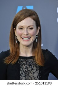 LOS ANGELES, CA - JANUARY 15, 2015: Julianne Moore at the 20th Annual Critics' Choice Movie Awards at the Hollywood Palladium.