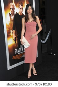 "LOS ANGELES, CA - JANUARY 15, 2014: Gemma Chan at the Los Angeles premiere of her movie ""Jack Ryan: Shadow Recruit"" at the TCL Chinese Theatre, Hollywood."