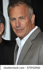 "LOS ANGELES, CA - JANUARY 15, 2014: Kevin Costner at the Los Angeles premiere of his movie ""Jack Ryan: Shadow Recruit"" at the TCL Chinese Theatre, Hollywood."
