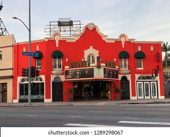 Los Angeles, CA: January 18, 2019:   The Vista theatre in Los Angeles. The Vista Theatre is a historic theater built in the 1920s