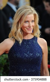 LOS ANGELES, CA - JANUARY 18, 2014: Anna Gunn at the 20th Annual Screen Actors Guild Awards at the Shrine Auditorium.