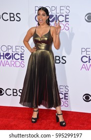 LOS ANGELES, CA. January 18, 2017: Actress Lilly Singh at the 2017 People's Choice Awards at The Microsoft Theatre, L.A. Live.