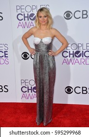 LOS ANGELES, CA. January 18, 2017: Actress Kristen Bell at the 2017 People's Choice Awards at The Microsoft Theatre, L.A. Live.