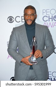 LOS ANGELES, CA. January 18, 2017: Actor Tyler Perry at the 2017 People's Choice Awards at The Microsoft Theatre, L.A. Live.