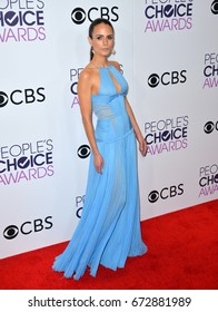 LOS ANGELES, CA - JANUARY 18, 2017: Jordana Brewster at the 2017 People's Choice Awards at The Microsoft Theatre, L.A. Live, Los Angeles