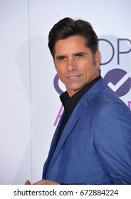 LOS ANGELES, CA - JANUARY 18, 2017: John Stamos at the 2017 People's Choice Awards at The Microsoft Theatre, L.A. Live, Los Angeles