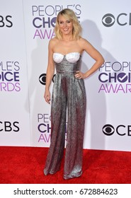 LOS ANGELES, CA - JANUARY 18, 2017: Kristen Bell at the 2017 People's Choice Awards at The Microsoft Theatre, L.A. Live, Los Angeles