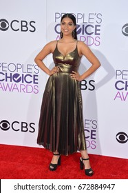 LOS ANGELES, CA - JANUARY 18, 2017: Lilly Singh at the 2017 People's Choice Awards at The Microsoft Theatre, L.A. Live, Los Angeles