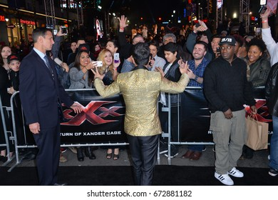 """LOS ANGELES, CA - JANUARY 19, 2017: Donnie Yen at the Los Angeles premiere for """"XXX: Return of Xander Cage"""" at the TCL Chinese Theatre, Hollywood."""