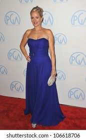 LOS ANGELES, CA - JANUARY 21, 2012: Penelope Ann Miller at the 23rd Annual Producers Guild Awards at the Beverly Hilton Hotel. January 21, 2012  Los Angeles, CA
