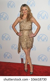 LOS ANGELES, CA - JANUARY 21, 2012: Missi Pyle at the 23rd Annual Producers Guild Awards at the Beverly Hilton Hotel. January 21, 2012  Los Angeles, CA