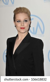 LOS ANGELES, CA - JANUARY 21, 2012: Evan Rachel Wood at the 23rd Annual Producers Guild Awards at the Beverly Hilton Hotel. January 21, 2012  Los Angeles, CA
