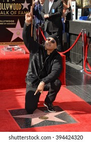 LOS ANGELES, CA - JANUARY 21, 2016: LL Cool J on Hollywood Blvd where he was honored with a star on the Hollywood Walk of Fame. January 21, 2016  Los Angeles, CA Picture: Paul Smith / Featureflash