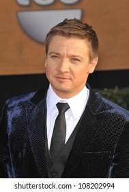 LOS ANGELES, CA - JANUARY 23, 2010: Jeremy Renner at the 16th Annual Screen Actors Guild Awards at the Shrine Auditorium.