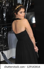 "LOS ANGELES, CA - JANUARY 24, 2013: Gemma Arterton at the Los Angeles premiere of her new movie ""Hansel & Gretel: Witch Hunters"" at Grauman's Chinese Theatre, Hollywood."