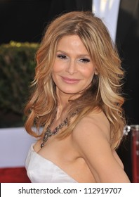 LOS ANGELES, CA - JANUARY 25, 2009: Kyra Sedgwick at the 15th Annual Screen Actors Guild Awards at the Shrine Auditorium, Los Angeles.