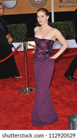 LOS ANGELES, CA - JANUARY 25, 2009: Amy Adams at the 15th Annual Screen Actors Guild Awards at the Shrine Auditorium, Los Angeles.