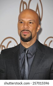 LOS ANGELES, CA - JANUARY 25, 2015: Common at the 26th Annual Producers Guild Awards at the Hyatt Regency Century Plaza Hotel.