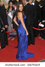 LOS ANGELES, CA - JANUARY 30, 2011: Sofia Vergara at the 17th Annual Screen Actors Guild Awards at the Shrine Auditorium. January 30, 2011  Los Angeles, CA