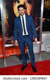 """LOS ANGELES, CA. January 30, 2019: Pepe Gamez at the world premiere of """"Miss Bala"""" at the Regal LA Live.Picture: Paul Smith/Featureflash"""