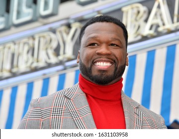 """LOS ANGELES, CA. January 30, 2020: Curtis 50 Cent Jackson at the Hollywood Walk of Fame Star Ceremony honoring Curtis """"50 Cent"""" Jackson.Pictures: Paul Smith/Featureflash"""