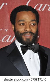 LOS ANGELES, CA - JANUARY 4, 2014: Chiwetel Ejiofor at the 2014 Palm Springs International Film Festival Awards gala at the Palm Springs Convention Centre.