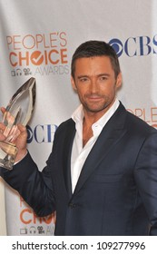 LOS ANGELES, CA - JANUARY 6, 2010: Hugh Jackman at the 2010 People's Choice Awards at the Nokia Theatre L.A. Live in Los Angeles.