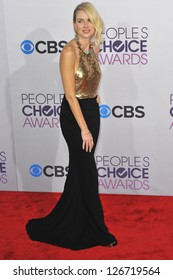 LOS ANGELES, CA - JANUARY 9, 2013: Naomi Watts at the People's Choice Awards 2013 at the Nokia Theatre L.A. Live.