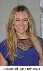 "LOS ANGELES, CA - JULY 14, 2011: Sarah Carter at the premiere of ""A Little Help"" at the Cary Grant Theatre at Sony Pictures Studios. July 14, 2011  Los Angeles, CA"