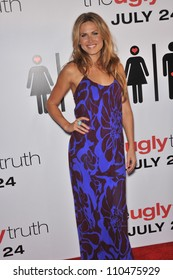 """LOS ANGELES, CA - JULY 16, 2009: Vail Bloom at the premiere of """"The Ugly Truth"""" at the Cinerama Dome, Hollywood."""