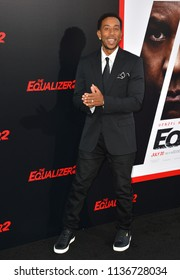 "LOS ANGELES, CA - July 17, 2018: Chris Bridges, aka Ludacris at the premiere for ""The Equalizer 2"" at the TCL Chinese Theatre"