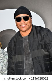 """LOS ANGELES, CA - July 17, 2018: LL Cool J at the premiere for """"The Equalizer 2"""" at the TCL Chinese Theatre"""
