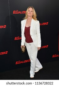 "LOS ANGELES, CA - July 17, 2018: Melissa Leo at the premiere for ""The Equalizer 2"" at the TCL Chinese Theatre"