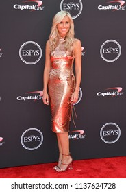 LOS ANGELES, CA - July 18, 2018: Taylor Bisciotti at the 2018 ESPY Awards at the Microsoft Theatre LA Live