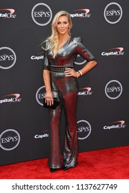 LOS ANGELES, CA - July 18, 2018: Charlotte Flair at the 2018 ESPY Awards at the Microsoft Theatre LA Live