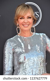 LOS ANGELES, CA - July 18, 2018: Allison Janney at the 2018 ESPY Awards at the Microsoft Theatre LA Live