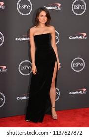 LOS ANGELES, CA - July 18, 2018: Eiza Gonzalez  at the 2018 ESPY Awards at the Microsoft Theatre LA Live