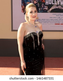 """Los Angeles, CA - July 22, 2019: Harley Quinn Smith attends The Los Angeles Premiere Of  """"Once Upon a Time in Hollywood"""" held at TCL Chinese Theatre"""