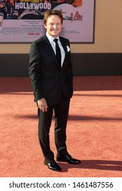 """Los Angeles, CA - July 22, 2019: Damon Herriman attends The Los Angeles Premiere Of  """"Once Upon a Time in Hollywood"""" held at TCL Chinese Theatre"""