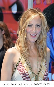 """LOS ANGELES, CA - July 23, 2017: Kim Raver at the world premiere for """"The Emoji Movie"""" at the Regency Village Theatre, Westwood"""