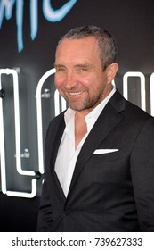 """LOS ANGELES, CA. July 24, 2017: Actor Eddie Marsan at the premiere for """"Atomic Blonde"""" at The Theatre at Ace Hotel, Los Angeles."""
