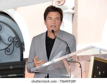 LOS ANGELES, CA - July 26, 2017: Jason Bateman at the Hollywood Walk of Fame Star Ceremony honoring actor Jason Bateman