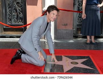 LOS ANGELES, CA. July 26, 2017: Actor Jason Bateman at the Hollywood Walk of Fame Star Ceremony honoring actor Jason Bateman.